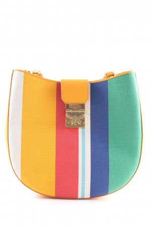 "MCM Sac à main ""Patricia Canvas Hobo Medium Rainbow Yellow"""