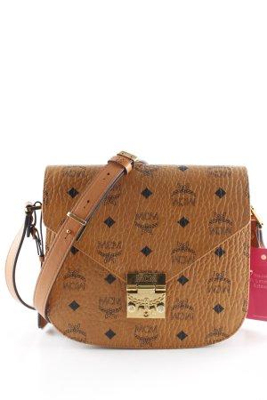 """MCM Handtasche """"Patricia Visetos Shoulder Bag Small Cognac"""" hellbraun"""