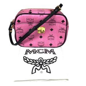 MCM Handtasche Umhängetasche Pink