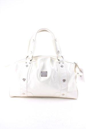 MCM Handbag white-natural white elegant