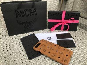 MCM Hoesje voor mobiele telefoons veelkleurig Leer