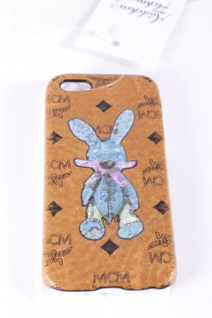 "MCM Handytasche ""Rabbit iPhone 5 Case FFF Cognac"""