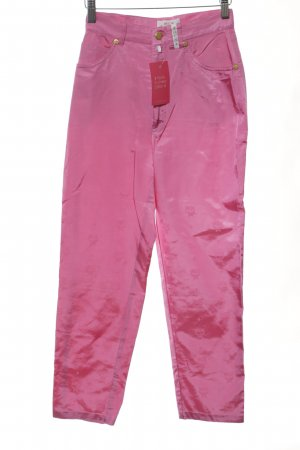 MCM High-Waist Hose pink Allover-Druck Casual-Look
