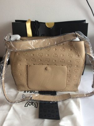 MCM Hobos oatmeal leather