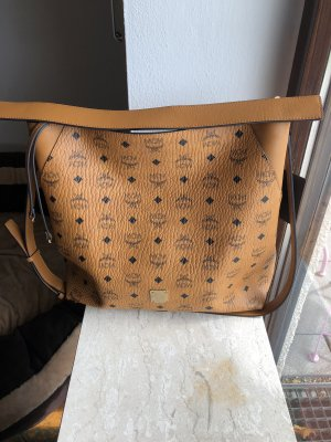 MCM Hobos cognac-coloured-black