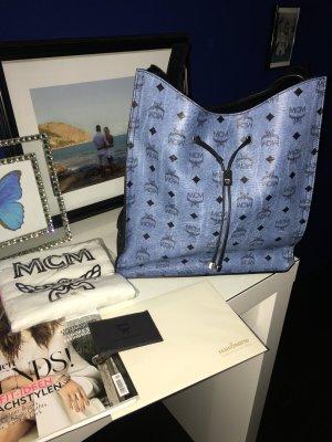 MCM Hobo Tasche blau