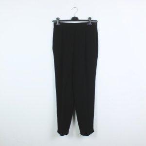 MCM Pantalón de color caqui negro Poliéster