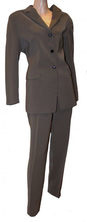 MCM Costume business ocre-brun polyester