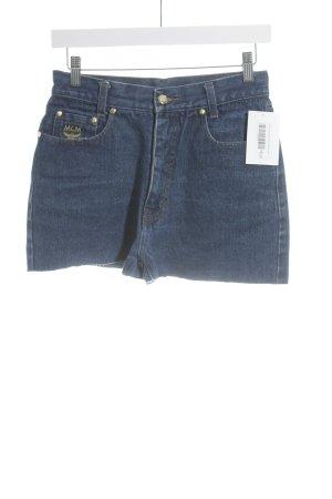 MCM Jeansshorts blau Casual-Look