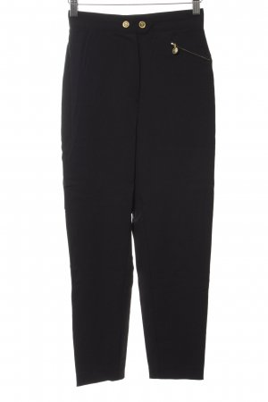 MCM Peg Top Trousers black-gold-colored simple style
