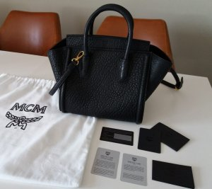 MCM Tote black leather