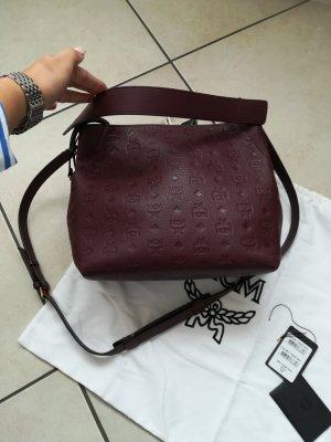 MCM Shoulder Bag blackberry-red-purple