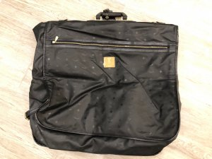 MCM Suit Bag black-gold-colored