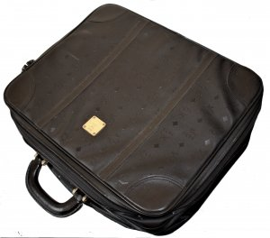 MCM Suitcase black leather