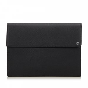 MCM Clutch black leather
