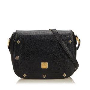 MCM Leather Crossbody Bag