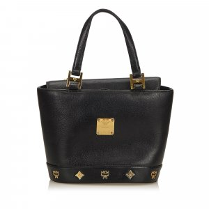 MCM Handbag black leather