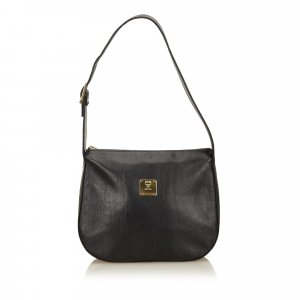 MCM Shoulder Bag black leather