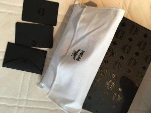 MCM Leder Zip Wallet Black