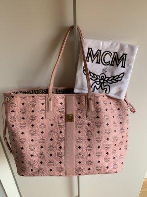 MCM Shopper rosé