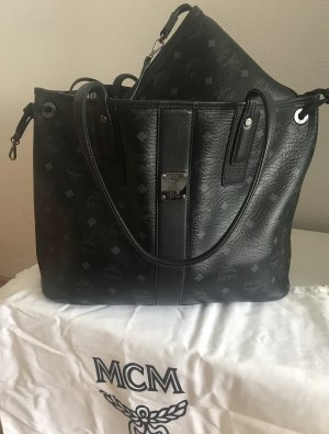MCM Shopper black-white