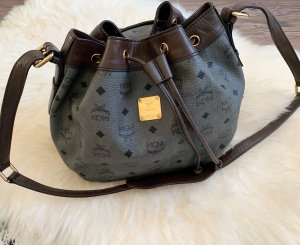 MCM Pouch Bag grey-brown