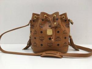 MCM Pouch Bag cognac-coloured leather