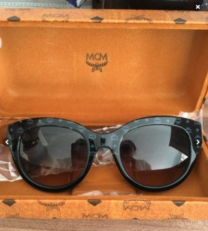 ebadf78be46 MCM Round Sunglasses black-blue acetate