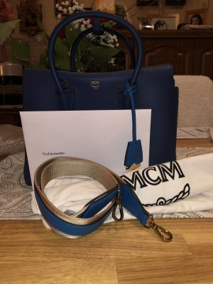 MCM Borsetta blu scuro