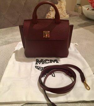 MCM Milla Satchel Mini - Rustic Brown