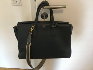 MCM Milla Tote Large Phantom Grey