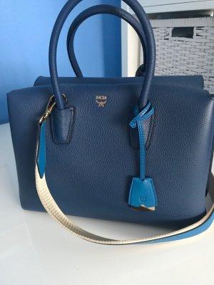 MCM Bolso azul oscuro-azul