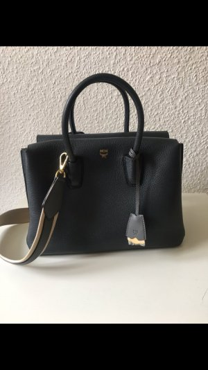 MCM Milla Tote Medium Phantom 2 Phantom Grey
