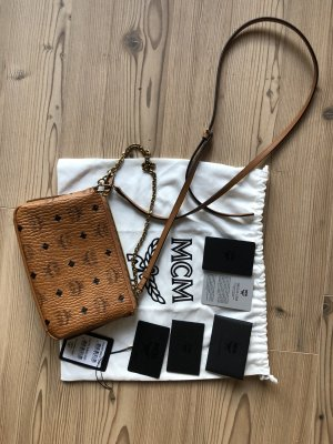 MCM Mini Bag cognac-coloured