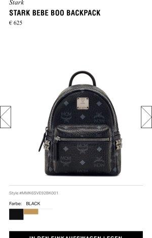 Mcm mini backpack schwarz neu ! Np 625€ !