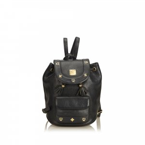 MCM Mini Leather Backpack