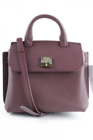 "MCM Mini sac "" Milla Crossbody Tote Mini Rustic Brown "" brun rouge"