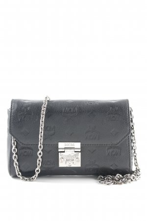 "MCM Minitasche ""Millie Leather Wallet Small Flap Crossbody Bag Black"""