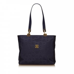 MCM Shoulder Bag blue nylon