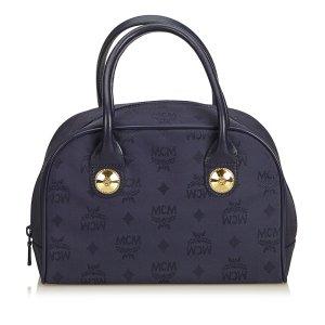 MCM Nylon Visetos Handbag