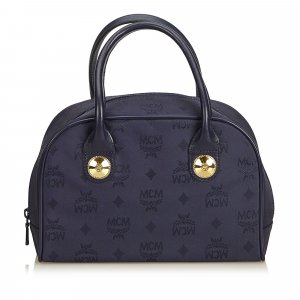 MCM Handbag blue nylon