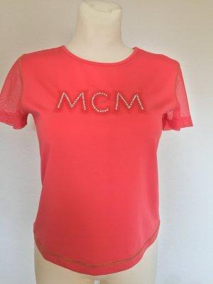 MCM Camicetta a maniche corte rosso chiaro