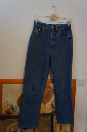 MCM Hoge taille jeans blauw