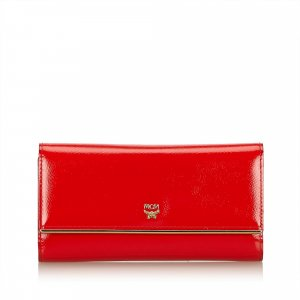 MCM Patent Leather Long Wallet