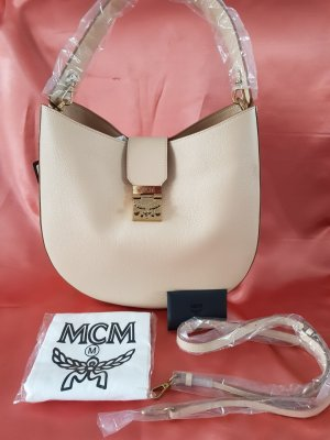 MCM Handbag oatmeal leather