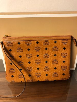 MCM Clutch light brown-beige