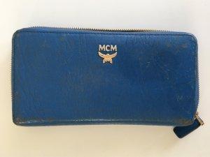 MCM Portemonnaie blau