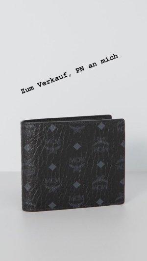MCM Portefeuille noir-gris