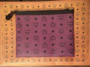 MCM Pouch, violett, Color Visetos