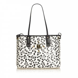 MCM Printed Visetos Shopper